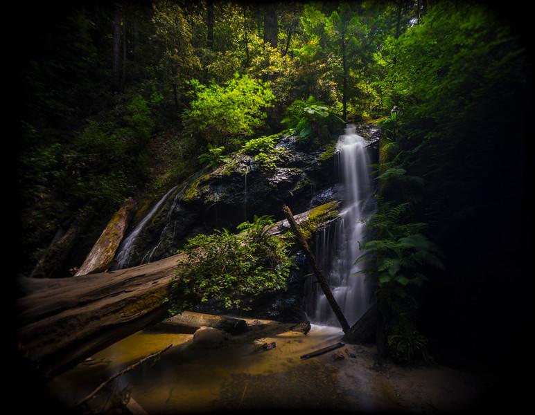 Russian Gulch Waterfall