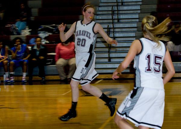 2008 Boys and Girls Basketball Caravel vs Howard