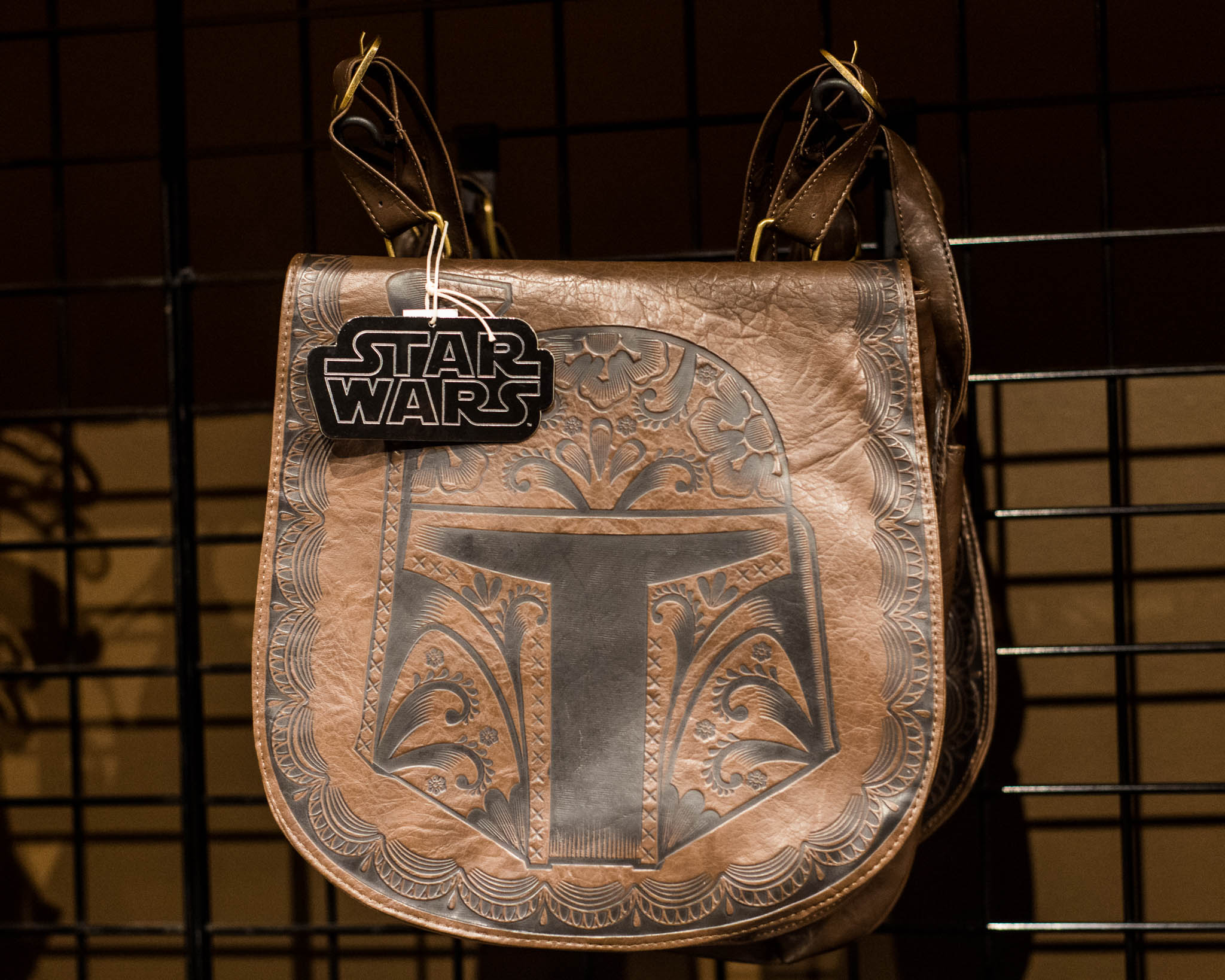 Star Wars Brown Handbag