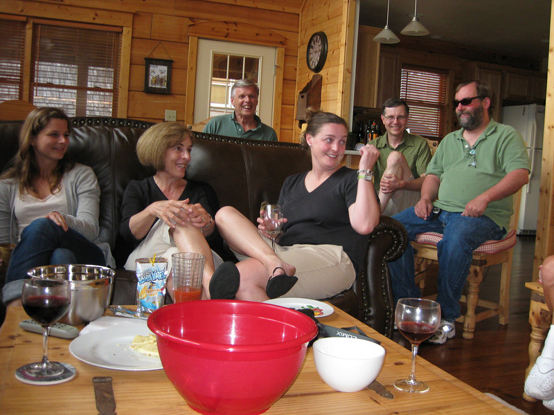 Drinks at the Persson/Young house