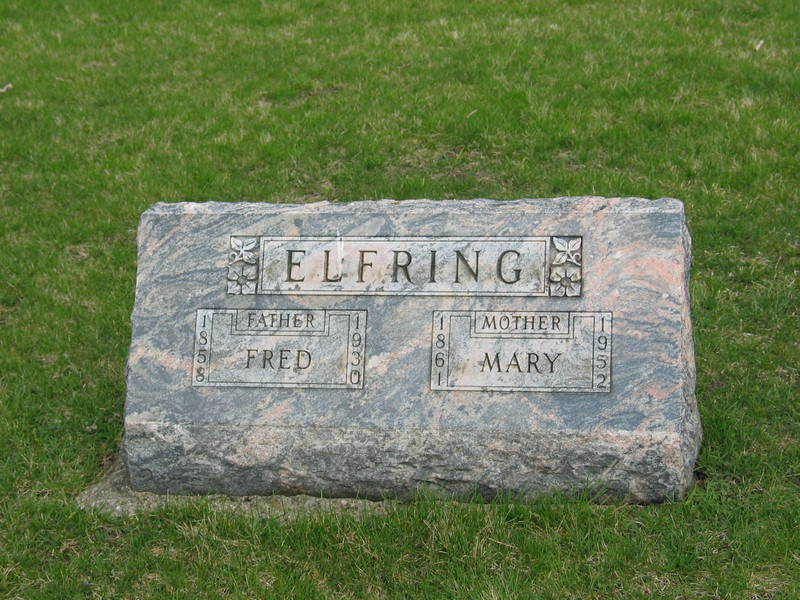 Fred and Mary Elfring