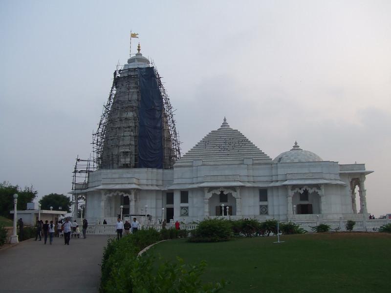 Last stop in Jaipur, Hindu temple