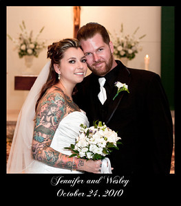 Wedding Album-Jennifer & Wesley