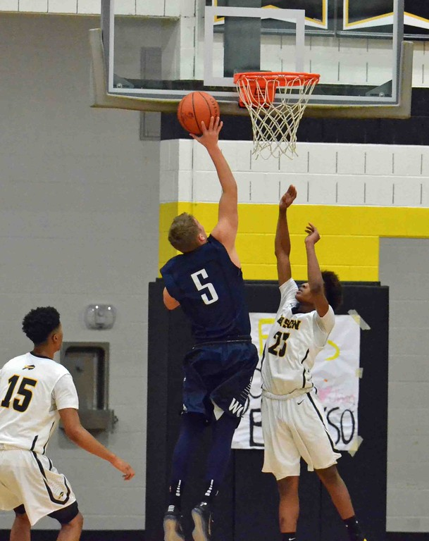 . Paul DiCicco - The News-Herald Action from the Beachwood-West Geauga game Dec. 12.
