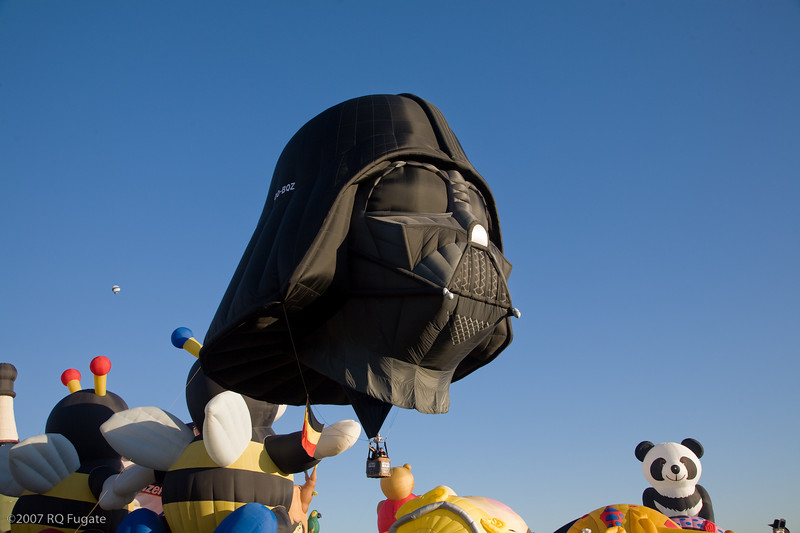 Darth Vader launch