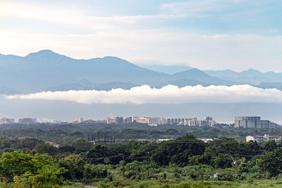 Ribbon of Low-lying Cloud, Puerto Vallarta, Mexico