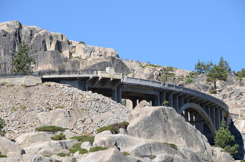 Rainbow Bridge, Old Donner Pass Road