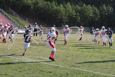 2012-10/13 6th Grade JR Warriors vs JR Wolverines