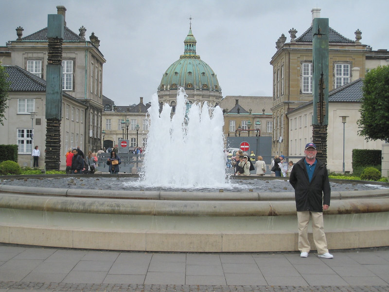 Amalienborg Palace (Queen's Palace) - Copenhagen