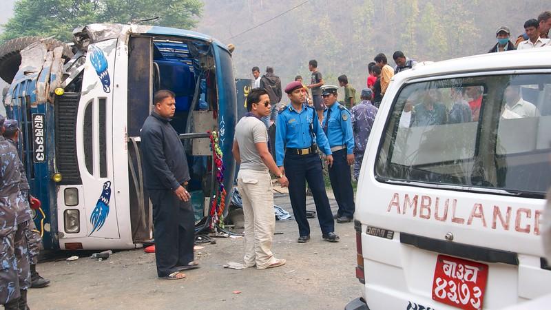 Na cestě z Kathmandu do Pokhary