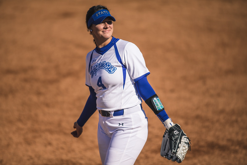 Indiana State softball takes on Bradley at Price Field April 6, 2018.