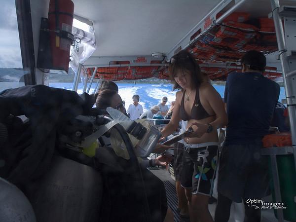 Banzai and Spotlight Cave Dives:  May 30, 2009