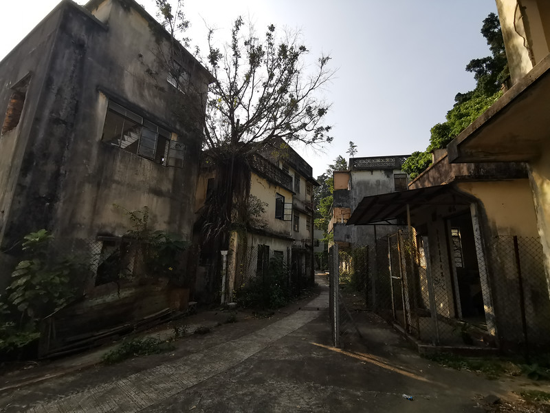 The ghost village of Ma Wan
