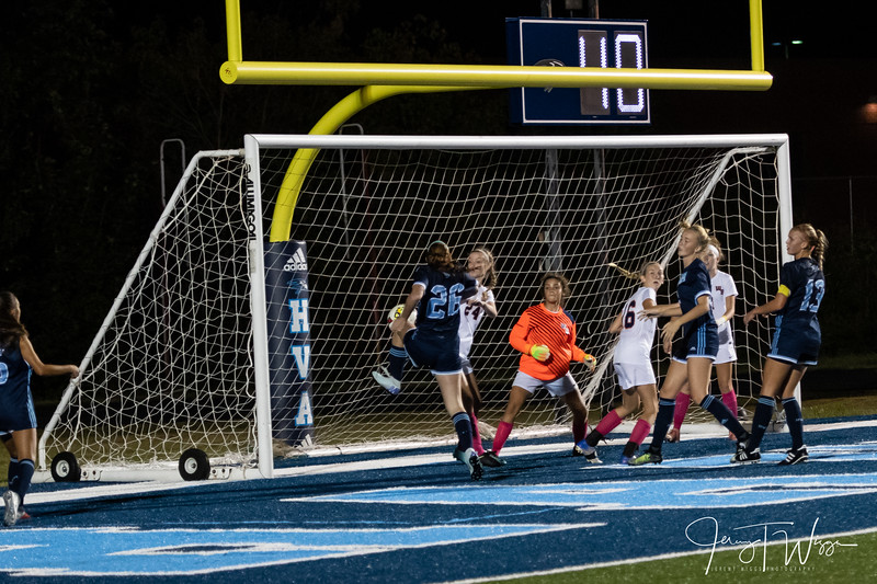 10-9-18 HVA vs William Blount District Semi Finals