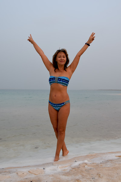 Dead Sea in November, nice weather