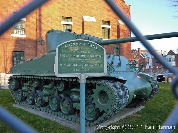 Armory - Barrie, ON - M4A2E8