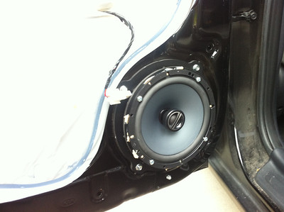 2012 Kia Forte LX Rear Speaker installation - USA