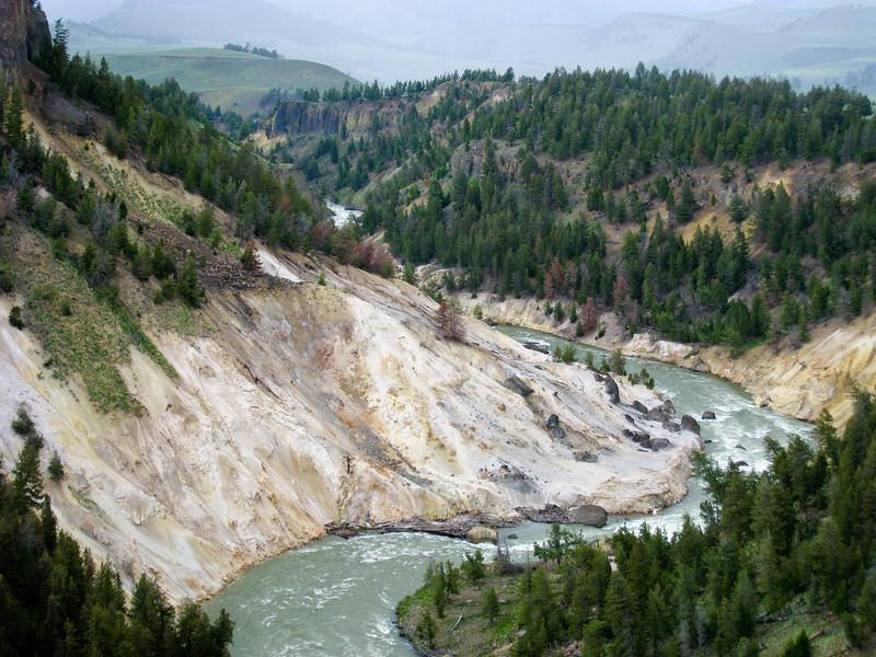 Yellowstone River at The Narrows