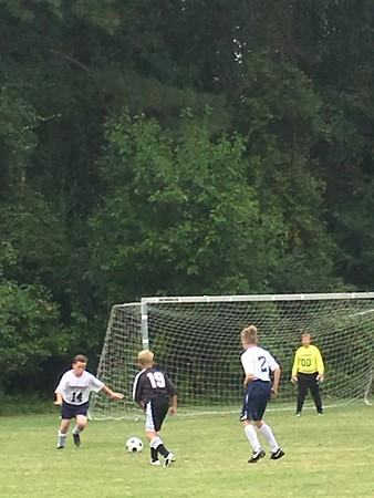 2017-2018 Middle School Soccer