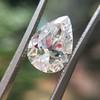 2.01ct Antique Pear Shape Diamond GIA G VS1 37