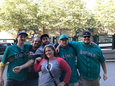 2017 Last Home Mariner Game v. the Indians