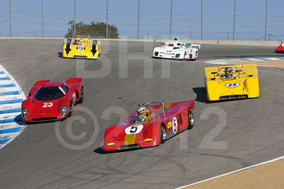 2012 Monterey Pre-Reunion Saturday Group 9 – 1970-1979 Sports Racing Cars under 2000cc