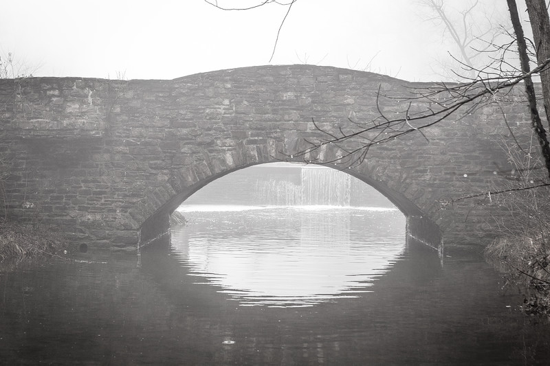 Bridge Over Still Waters 2 at Trewellyn Preserve