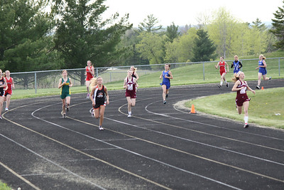 Girl's 3200 Meters - 2012 Mid Mich Invite