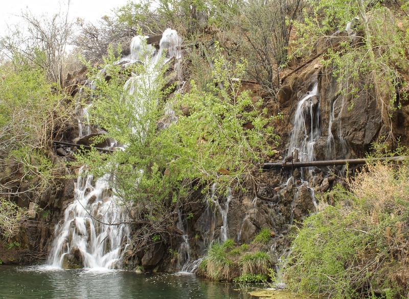 Waterfall at Fain Lake (2018)