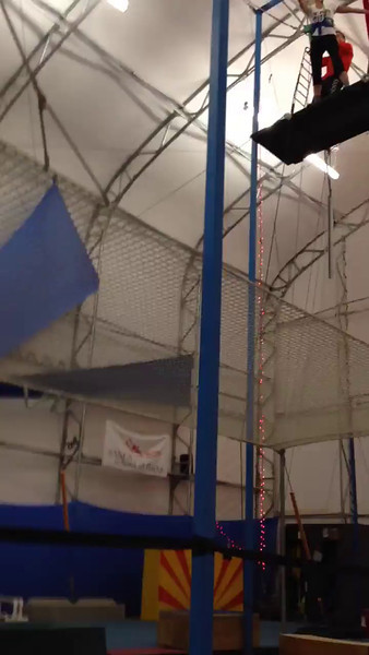 Me on the trapeze!