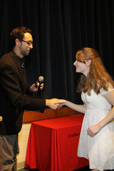 Awards Night 2012 -  Student of the Year: Latin 2