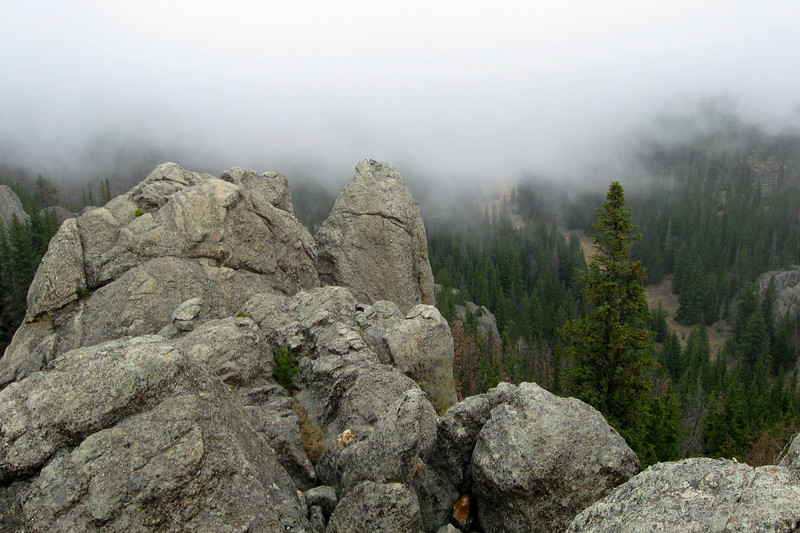 Lost Cabin Trail Scrambling