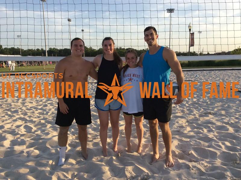Summer 2018 Sand Volleyball Runner Up Sports!