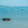 Boatride on the Sea of Galilee, Israel