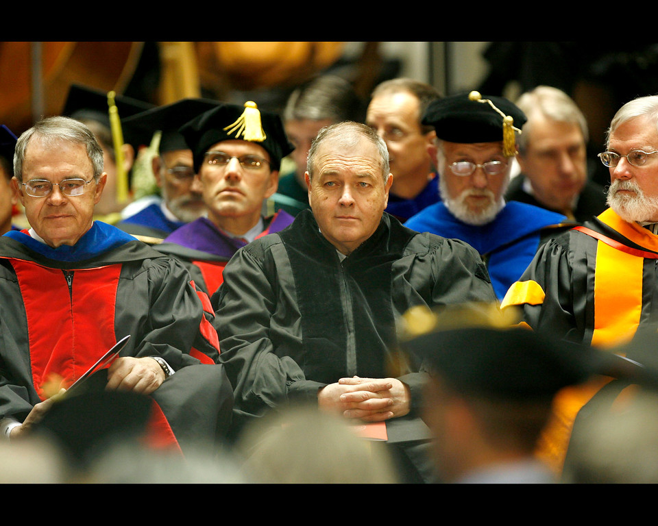. The University of Utah holds their annual commencement ceremonies at the Jon M. Huntsman Center on Friday, May 7, 2010. Francisco Kjolseth / The Salt Lake Tribune