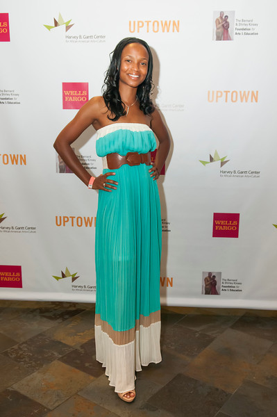 Uptown Magazine - The Kinsey Collection Step & Repeat @ The Gantt Center 6-27-13