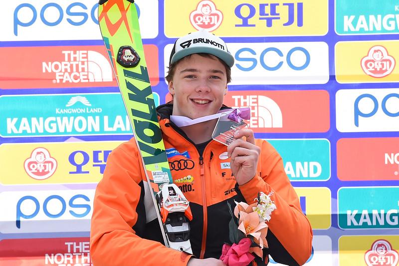 18-3-2017 SKIEN: 2017 WORLD PARA SKIEN WORLD CUP FINALS: PYEONGCHANG Jeroen Kampschreur. Slalom. Foto: Mathilde Dusol