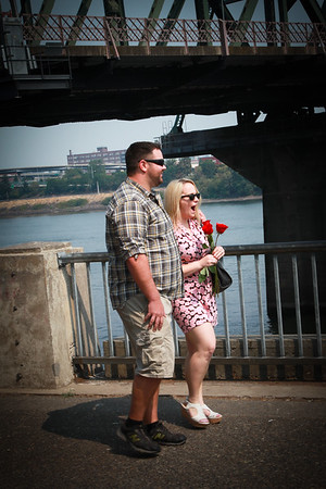 Kennan & Anna Engagement on the Waterfront