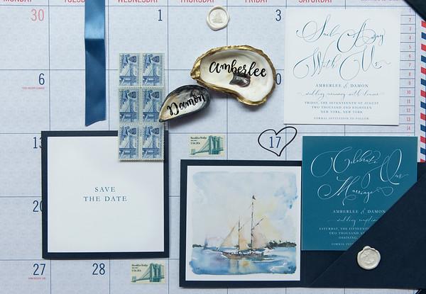 Nautical NYC Wedding
