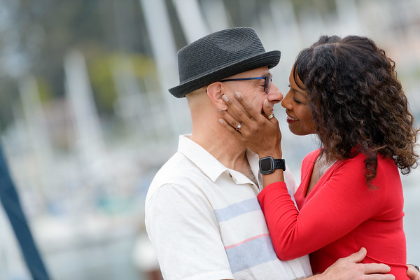 Teri and Sami engagement @ Seabright Beach, Santa Cruz