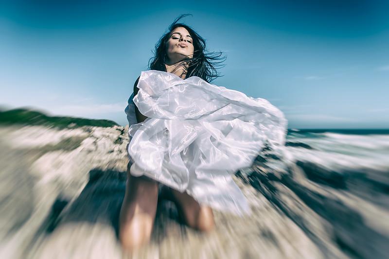 Windy Beach Day - Ana N