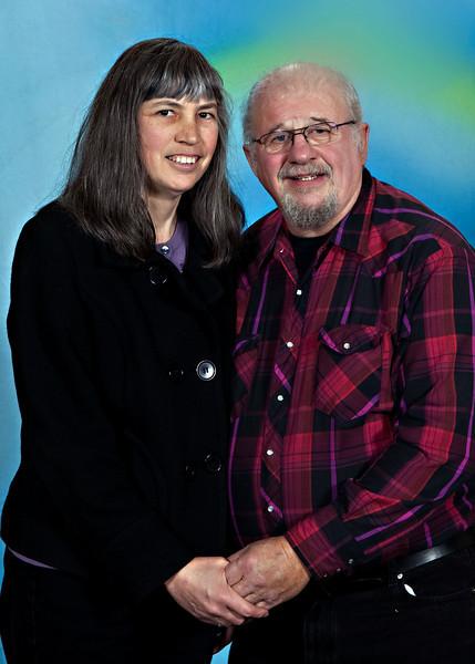 Bill and Sherry Joy