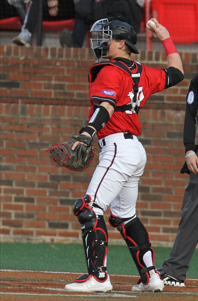 Gardner-Webb's Baseball team takes on App State in the second of a three game series.
