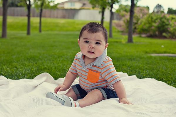 Gavin 6 Months Old