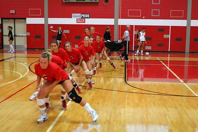 Girls Varsity Volleyball - 2007-2008 - 9/11/2007 Ludington