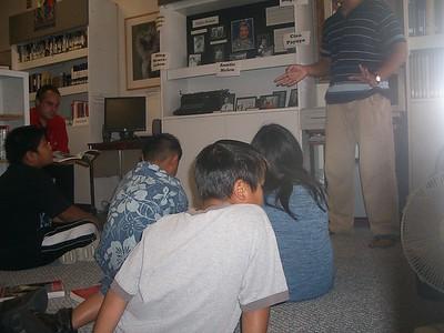 FAL Storytelling at FASGI - 8/16/2006