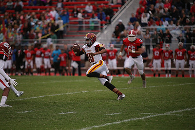 Hickory High Red Tornados @ Newton Conover Red Devils 9-2-2016