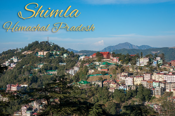 Shimla, Himachal Pradesh, India, Mar 2018