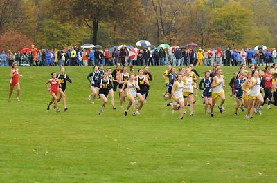 Girls AA Race