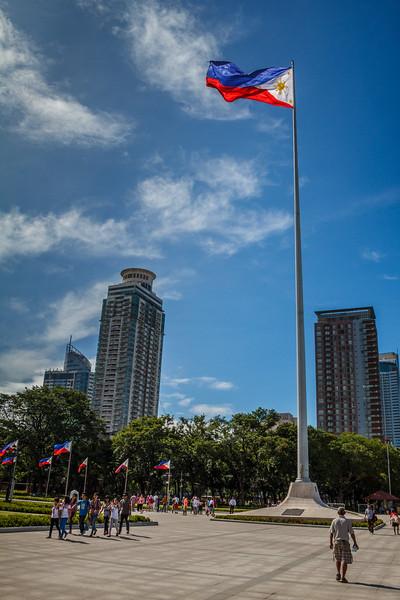 Around Rizal Park.